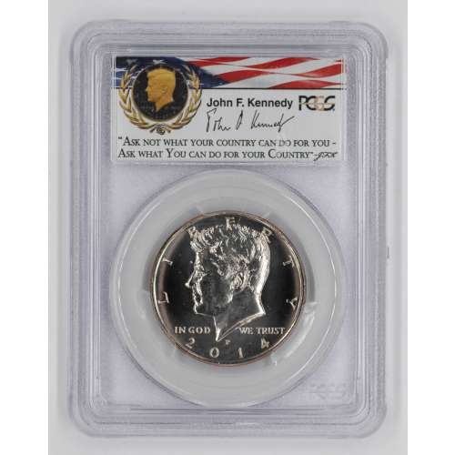 2014 50th Anniversary UNC Set - Clad  1st Day of Issue - Denver  PCGS SP-68
