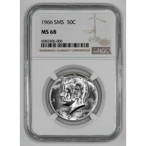 1966-S  SMS NGC MS-68