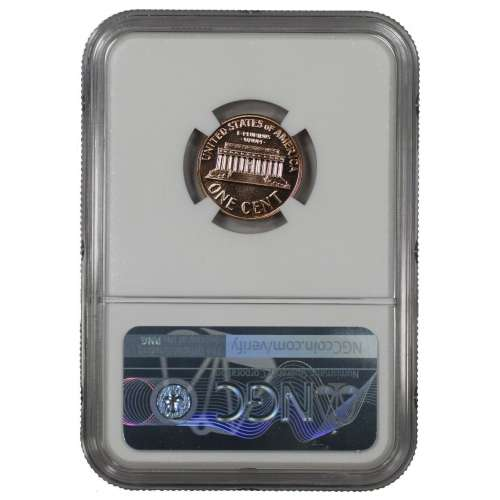 1960 SMALL DATE PROOF LINCOLN MEMORIAL CENT PENNY 1C NGC CERTIFIED PF 68 RD
