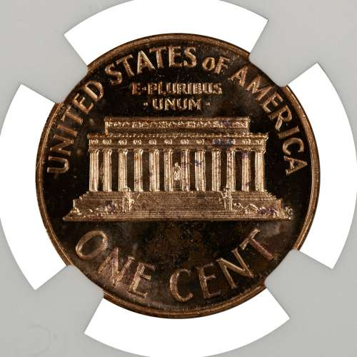 1967 SMS LINCOLN MEMORIAL CENT PENNY 1C NGC CERTIFIED MS 66 RD
