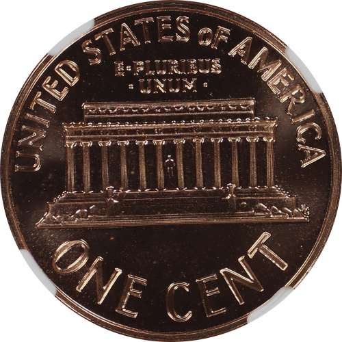 1963 PROOF LINCOLN MEMORIAL CENT PENNY 1C NGC CERTIFIED PF 68 RD