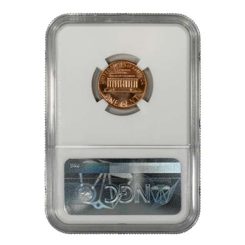 1967 SMS LINCOLN MEMORIAL CENT PENNY 1C NGC CERTIFIED MS 67 RD