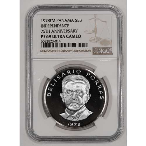 1978-FM INDEPENDENCE 75TH ANNIVERSARY ULTRA CAMEO NGC PF-69