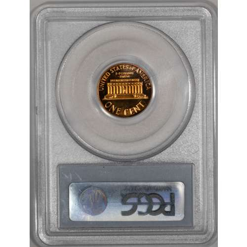 1960 Small/Large Date RD PCGS PR-68